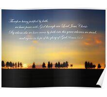 Sunset Christian  Poster