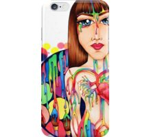 Art Runs through our veins By Amy Grigg iPhone Case/Skin