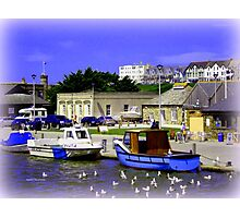 Bude Harbour Photographic Print