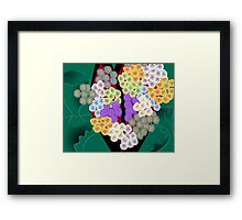 Modern Bouquet Framed Print