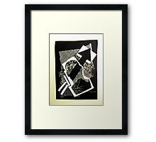No particular message to be conveyed... Framed Print