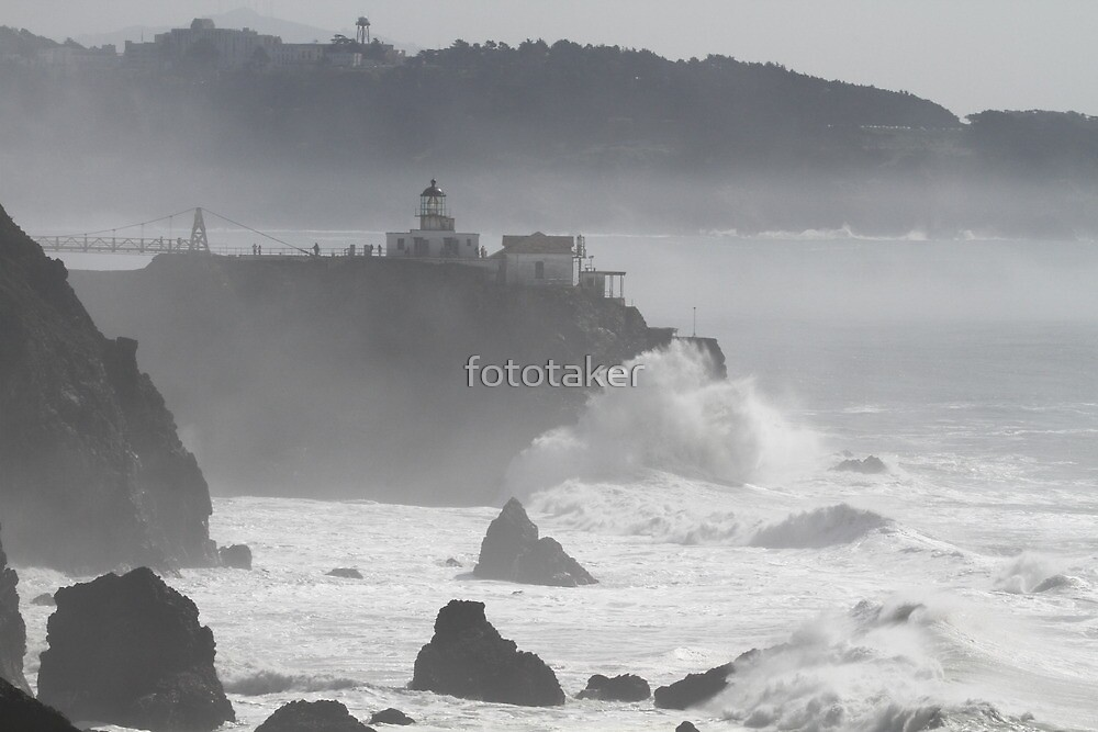 Against the Misty Pacific by fototaker