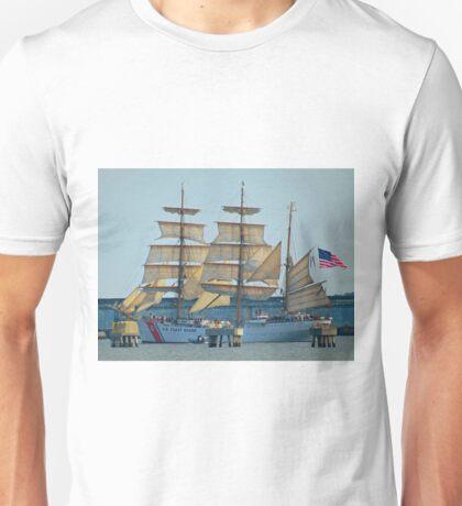 USCG Tall Ship Eagle - II Unisex T-Shirt