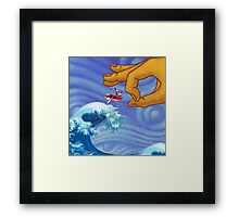 Gimme a Break! Framed Print