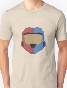 Red vs Blue Poster Unisex T-Shirt
