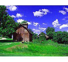 Little Barn Photographic Print