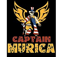 Captain MURICA Photographic Print