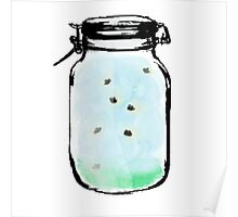 Firefly Mason Jar Poster