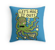 Lets Hug It Out Throw Pillow