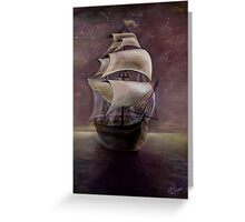 Journey to the Dreamland Greeting Card