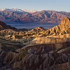 Manly Beacon from Zabriskie Point by Rick Ferens