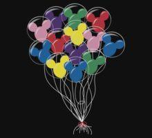 Mickey Balloons One Piece - Long Sleeve