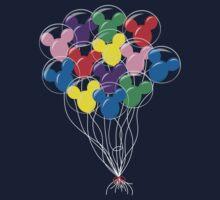 Mickey Balloons One Piece - Short Sleeve