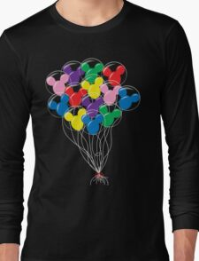 Mickey Balloons Long Sleeve T-Shirt