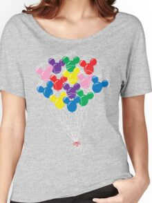 Mickey Balloons Women's Relaxed Fit T-Shirt