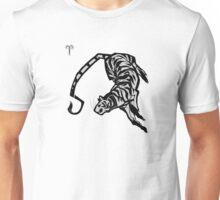 DoubleZodiac - Aries Tiger Unisex T-Shirt