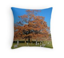 Under the Old Oak Tree Throw Pillow