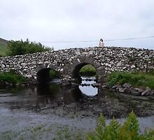 """Quiet Man Bridge""off Clifden Road,Co.Galway. by Pat Duggan"
