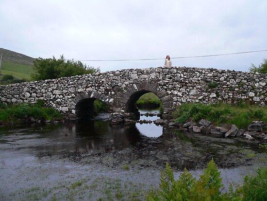 """""""Quiet Man Bridge""""off Clifden Road,Co.Galway. by Pat Duggan"""