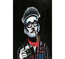Hipster Bill Photographic Print