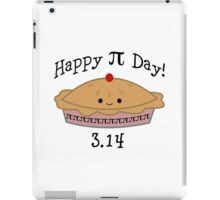 Adorable Happy Pi Day  3.14 Design iPad Case/Skin
