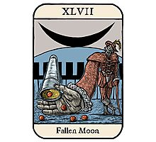 Fallen Moon Photographic Print