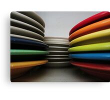 Rainbow Fiesta Canvas Print