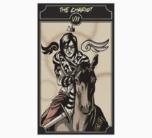 The Chariot - Sinking Wasteland Tarot Kids Clothes