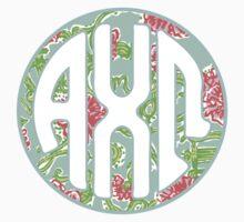AXΩ Lilly Monogram by emmytyga