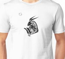 DoubleZodiac - Cancer Rabbit Unisex T-Shirt