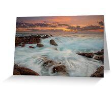 Smiths Beach Last Light II Greeting Card