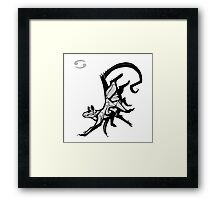 DoubleZodiac - Cancer Rat Framed Print
