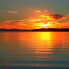 Sunset, Sommers Bay, Tasmania by CezB