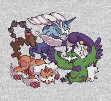 Cute Genie Pokemon Kids Tee