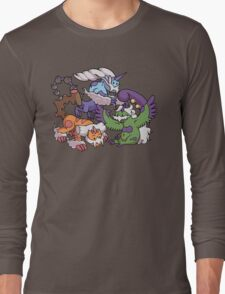 Cute Genie Pokemon Long Sleeve T-Shirt