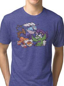 Cute Genie Pokemon Tri-blend T-Shirt