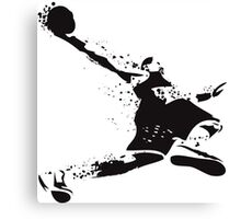 Baller in Ink Canvas Print
