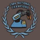 1984 Armatron Championships. by ChickenSashimi