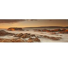 Smiths Beach last light Photographic Print