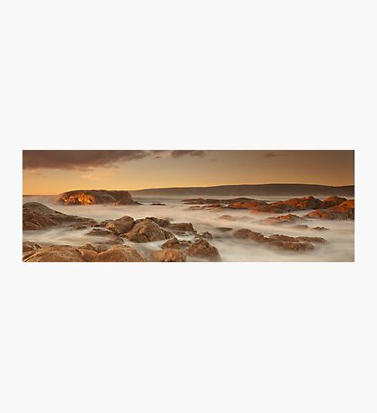 Smiths Beach last light Photographic Print