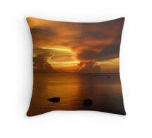 Sunset on Koh Tao Throw Pillow