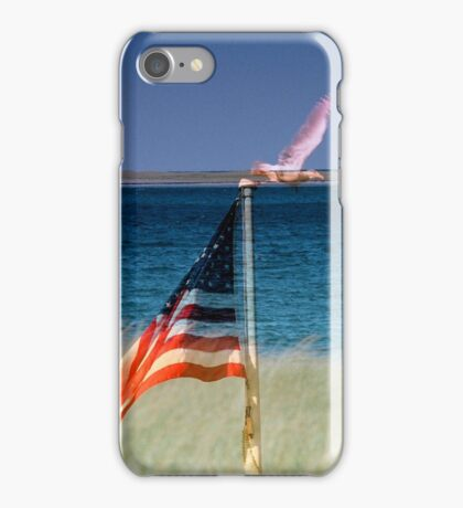 Freedom Cape Cod Collage iPhone Case/Skin