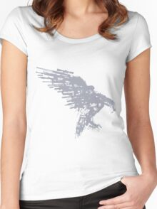 Arsenal Eagle Women's Fitted Scoop T-Shirt
