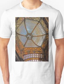 The ceiling in Parisi Udvar T-Shirt