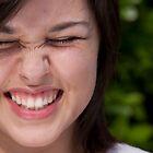 scrunchy face! by Amanda Figueroa