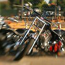 Motorcycle by Walter Parada