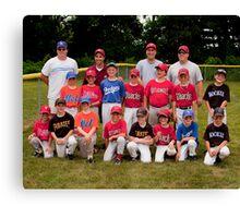 2010 National League Little League All Stars Canvas Print