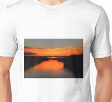 Sunrise on the Assiniboine Unisex T-Shirt