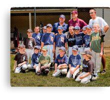 2010 American League Little League All Stars Canvas Print