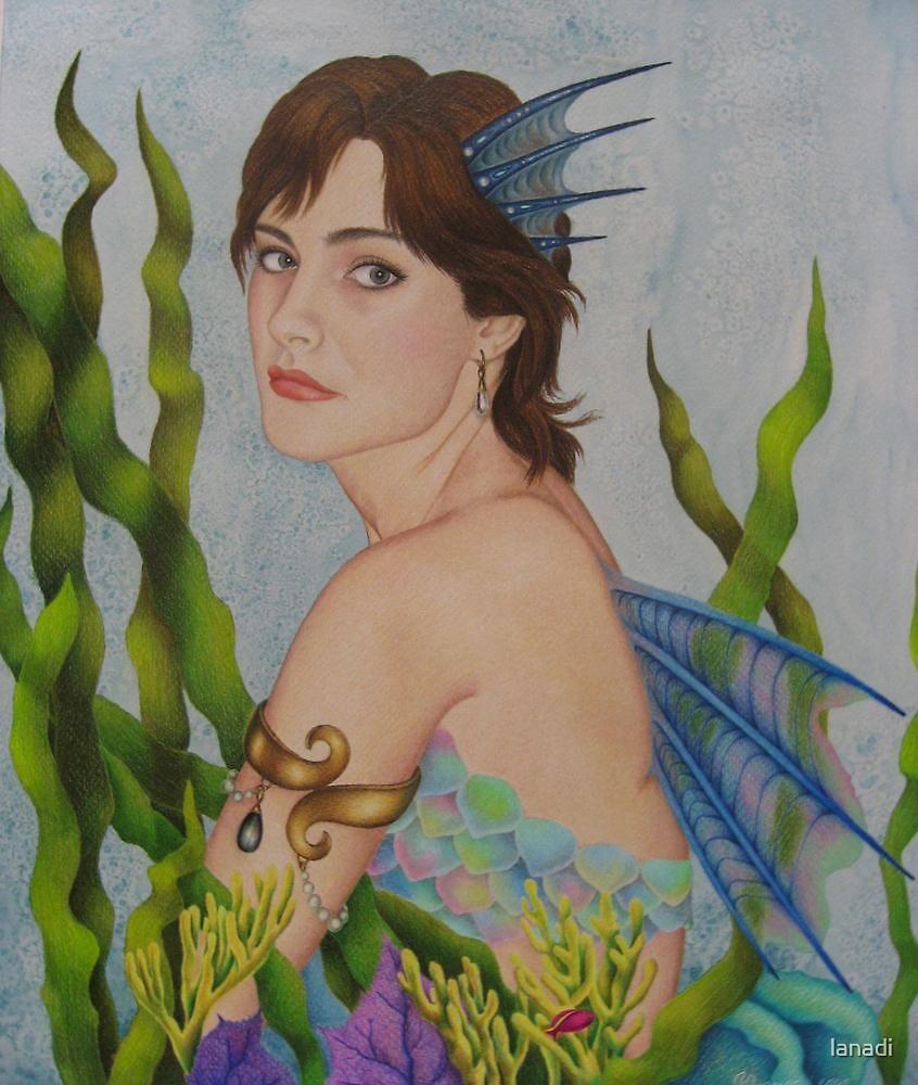 Mermaid thoughts by lanadi